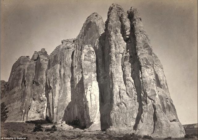 Inscription Rock, New Mexico - Timothy O'Sullivan 1873